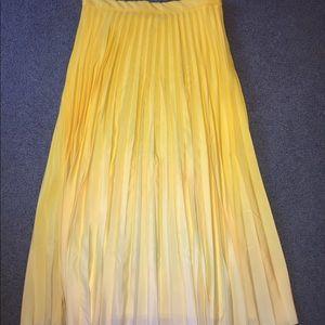Ombré Yellow Skirt